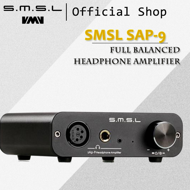 buy smsl sap 9 full balanced headphone amplifier rca xlr input rca and mm. Black Bedroom Furniture Sets. Home Design Ideas