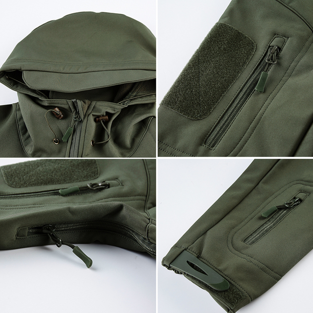 Waterproof Soft Shell Tactical Jacket