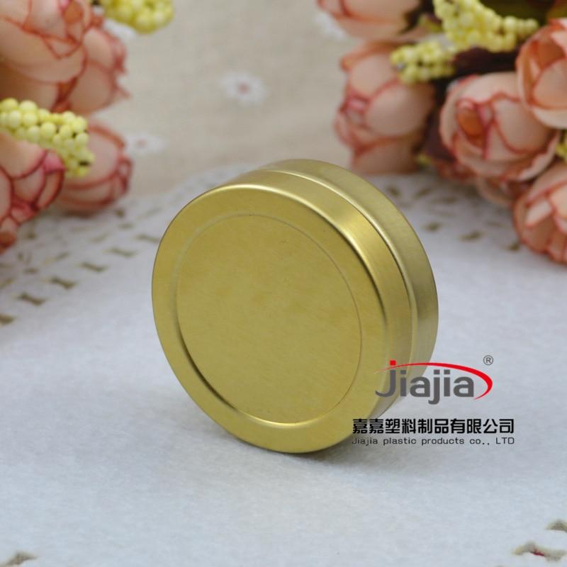 20g Lip gloss Container Cosmetic Metal Jar Make up Sample Packaging,20g cream jar,