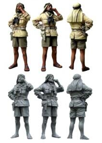 1/35 Resin Figure WWII Sas Soldier 1pc Model Kits