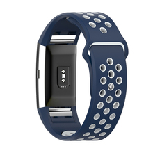 Silicone Strap for Fibit Charge 2 Replacement Double Color Wristband Watchband For Fitbit Charge 2 Bracelet Smart Accessories
