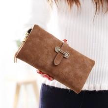 Women Wallet vintage tassel zipper and hasp Long Design Ladies Purse luxury brand Clutch coin purse TQX47