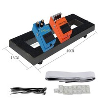 Guitar Pedal Boards Effects Pedal Board Cases For Electric Guitar 1 Tape With Adhesive Backing Ties