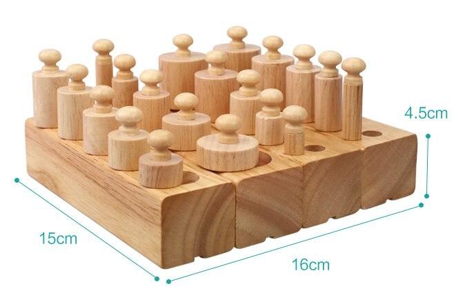 1-3 ans blocs en bois Montessori enseignement sida Intelligence de la petite enfance jouets éducatifs enfants apprentissage éducation enfants cadeau - 5