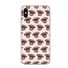 Cute Bulldog Terrier Phone Case iPhone 5 5S SE 6 6S Plus 7 7Plus 8 8 Plus X