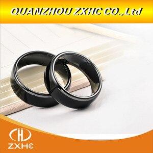 Image 5 - Handheld 125KHz EM4100 RFID Copier Writer Duplicator Programmer Reader +ID125Khz RFID Black Ceramics Smart Finger Ring Wear