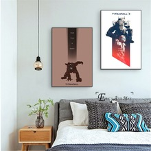 Titanfall Game Simple Characters Canvas Prints Modern Painting Posters Wall Art Pictures For Living Room Decoration No Frame