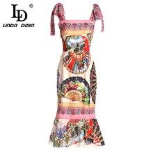ليندا اللباس خمر الأزهار