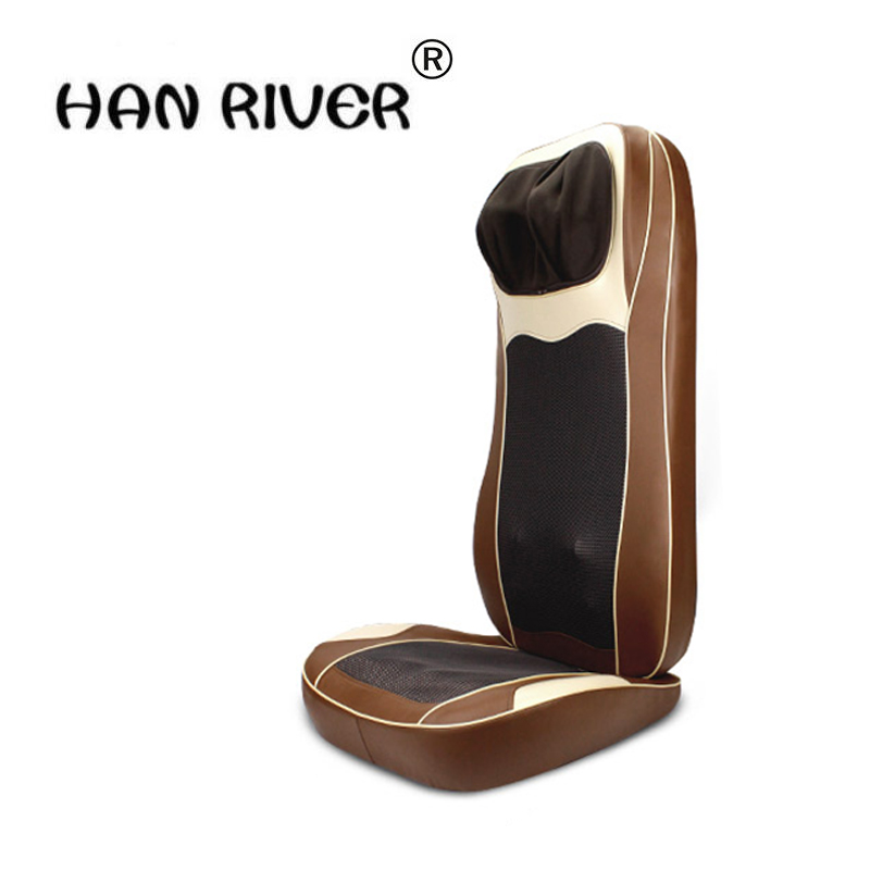 HANRIVER RU 110V 220V 3d Massage Chair Cushion Neck Waist Back Body Household Multifunction 3D Robot Health Massager hot selling hanriver massager cushion for shakti