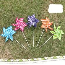 1 шт. 21 см шестиугольная ветряная мельница красочные детские креативные DIY элементы ПВХ пластиковая игрушка ветряная мельница подарки для детей