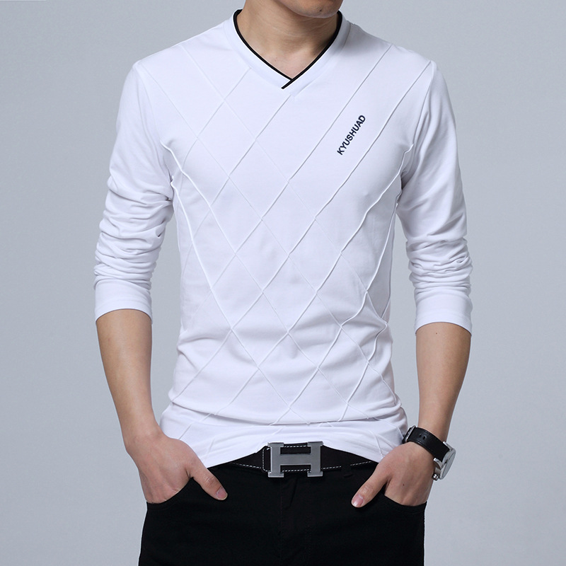 Browon 2017 fashion men t shirt slim fit custom t shirt for Ez custom t shirts