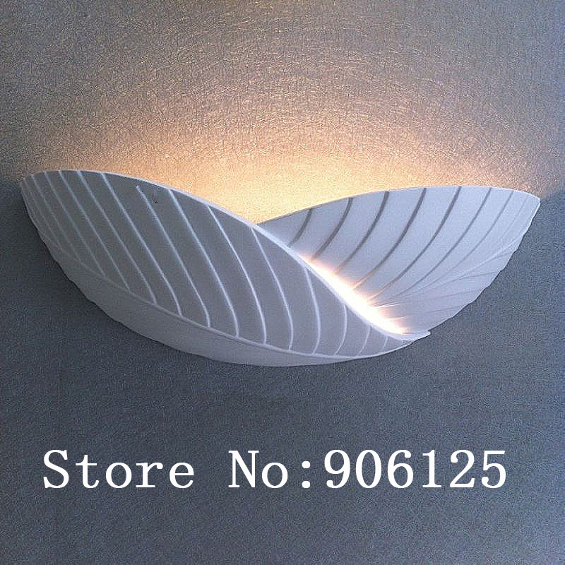 Modern Wall Lamp Wall Light Wall Sconce Plaster Wall Lamp Leaves