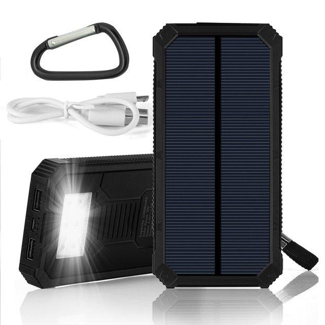 PowerGreen Mini Power Bank Carabiner Design