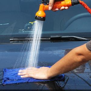 Image 5 - 25 10FT Flexible Garden Water Guns Garden Hose Pipe Multi  Function High Pressure Spray Nozzle Collapsible Hose for Garden Car