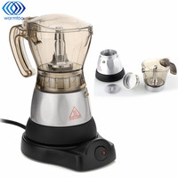 Coffee Maker French Press Cafetiere 4 Cups Electric Fully Automatic 3 Minutes Coffee Machine Tea Pot
