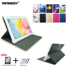 Fashion Painted Front support stand cover case For Onda V10 3G/V10 4G 10.1inch tablet Anti-drop TPU case for V10 3G slate 7 3g tablet case for hp slate 7 3g g1v99pa stand leather case with hand holder screen protectors