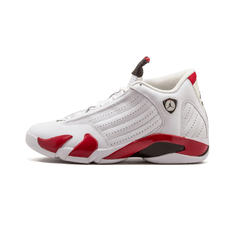 Original Authentic NIKE Air Jordan 14 Retro Men's Basketball Shoes Sport Outdoor Sneakers Medium Cut Lace-Up Good Quality 487471 66