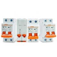 Nuevo más ideal rendimiento limitador de corriente 2P CC 1000V interruptor de circuito solar CC breaker10A 16A 25A 32A 40A 50A 63A MCB disyuntor