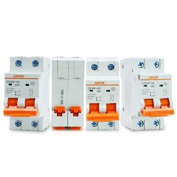 new most ideal current limiting performance 2P DC 1000V solar circuit Breaker DC breaker10A 16A 25A 32A 40A 50A 63A MCB breaker dhl eub 5pcs new original for schneider c65n dc 1p c40a breaker 15 18