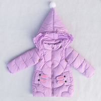 Baby Girls Coat Winter Down Jacket New Warm Clothing Children Hooded Jacket Kids Thicken Outerwear Cartoon Jackets for Girl