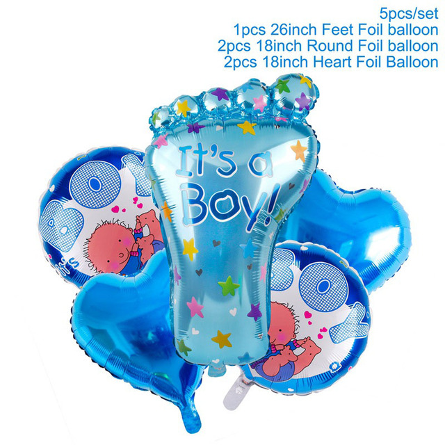 Blue Balloons Set Presents for one year old boy 5c64f7ebefc29