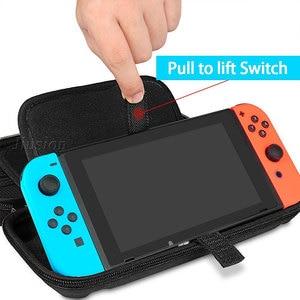 Image 4 - ניילון EVA קליפה קשה עבור Nintend מתג מקרה נייד כיסוי תיק עמיד למים Funda מתג עבור Nintendoswitch קונסולת אבזרים