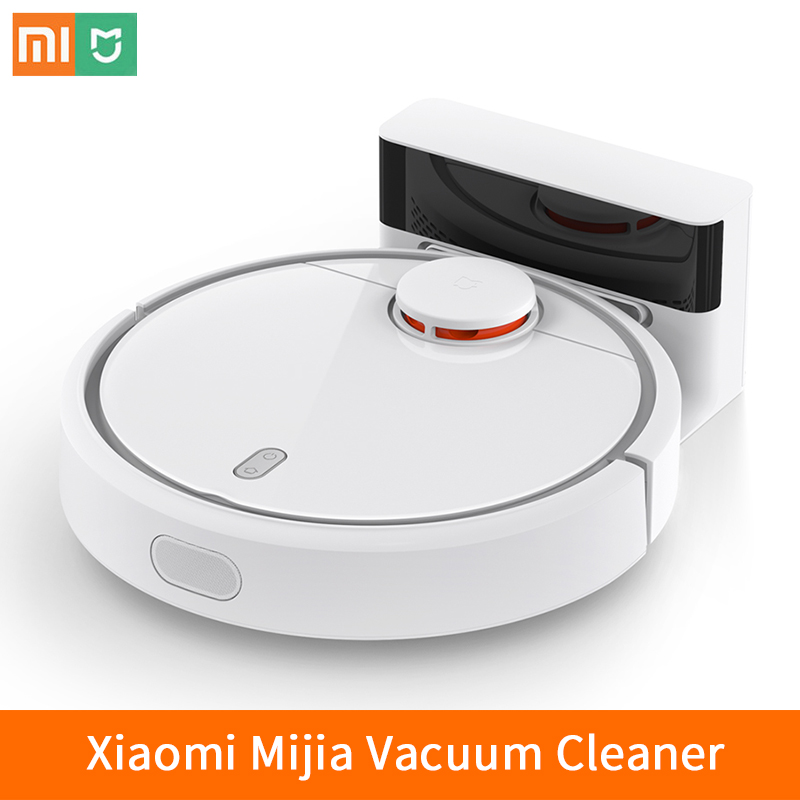 2017 Xiaomi MI Robot Mijia Vacuum Cleaner for Home Automatic Sweeping Dust Smart Planned Sterilize Mobile App Remote Control цена и фото