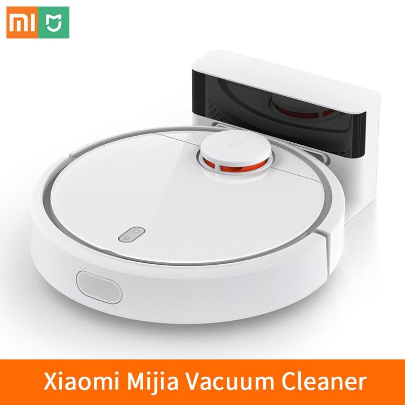 2017 Xiaomi mi робот mi Цзя пылесос для домашнего Автоматической подметания пыли Smart планируется стерилизовать мобильное приложение Remote Управлени...