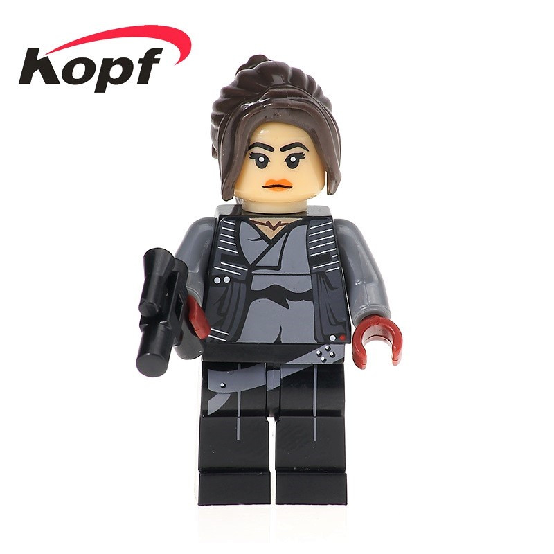 Single Sale Star Wars Figures Jyn Erso Imperial Shoretrooper Luke Skywalker Bricks Building Blocks Toys for children Gift XH 451 проектор звездного неба в зеленограде