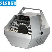 SLS-S53 220V Goedkoopste Gratis Verzending 60W Mini Bubble Machine Stage Effect Machine Afstandsbediening