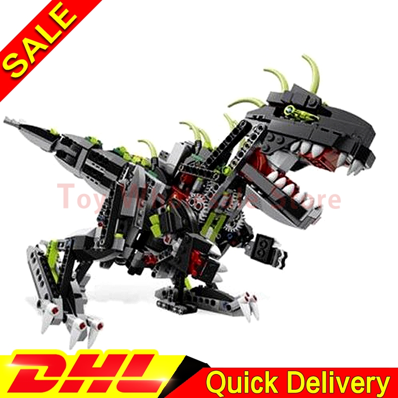 LEPIN 24010 792pcs Science technology Monster Dino 3 in 1 dinosaur remote control sound function anime figures toys Clone 4958 почтовый ящик union science and technology