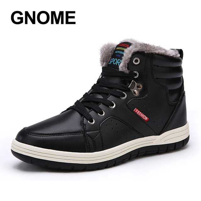 Winter Men Fashion Leather Boots Casual Winter Shoes Ankle Boots Cheap Cowboy Boots