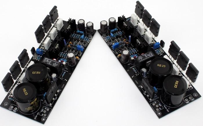 AC double 20V-32V A2 FET fully symmetrical amplifier board / TT1943 / TT5200 150W *2 2.0 channel Class A amplifier board inner hexagon key wrench set professional tools set l wrench set 9 pcs