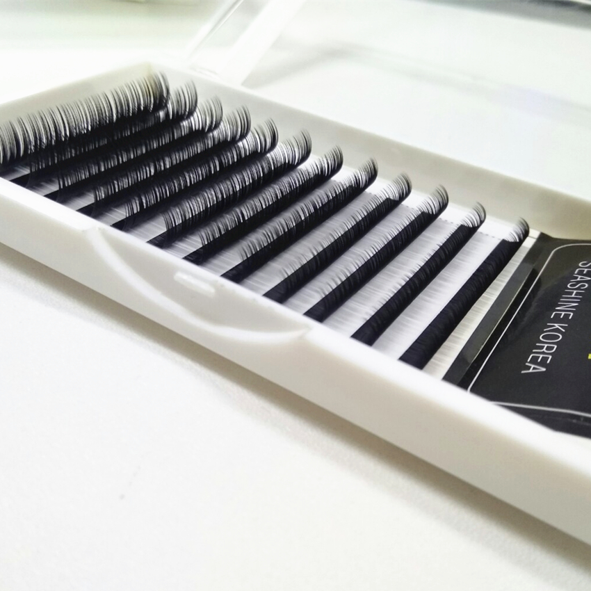 Top lash C/DL faux mink eyelash extensions false eyelash extensions fake lashes Korean Silk Individual Eyelash Extension