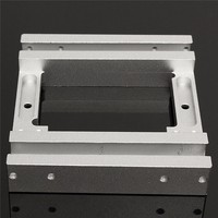 Makerbot Replicator X axis Slider Aluminum Alloy Silver Dual-head Holder for Makerbot2, MK10 3D Printer