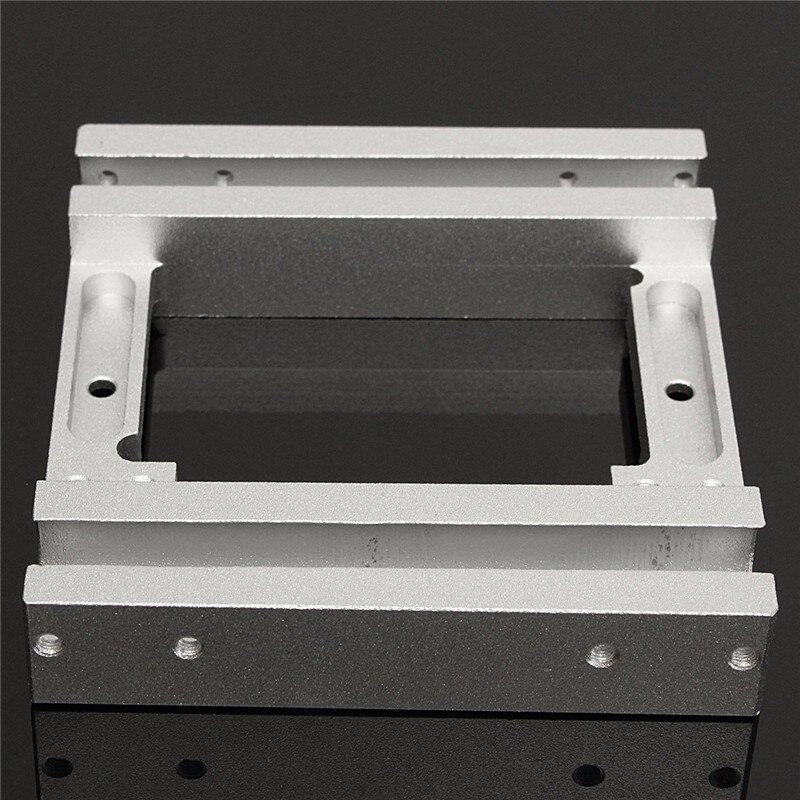 Makerbot Replicator X axis Slider Aluminum Alloy Silver Dual head Holder for Makerbot2 MK10 3D Printer
