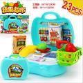 Niños supermercado caja registradora de juguete de Simulación de Lujo Juegos de imaginación Juguetes supermercado cajero juguete