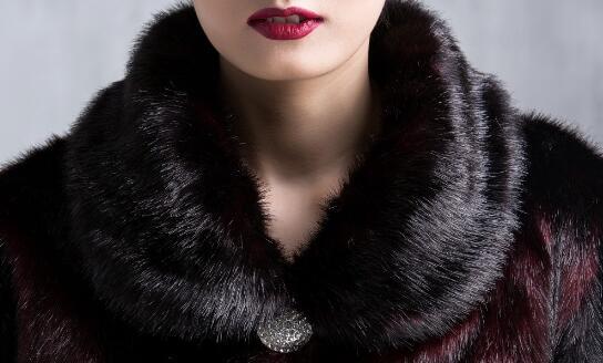 Manches Femme Nouvelles Épaisse Pour Hiver red Pardessus Faux Purple À Pourpre Manteau Chaud 2019 Femmes A3932 Fourrure rouge Vêtement De Longues xzwq1p6p