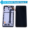Reemplazo para xiaomi redmi note 2 lcd display + touch screen + frame del digitizador assembly + herramientas; lcd para hongmi note 2