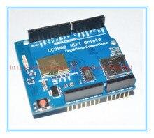 ENVÍO GRATIS 1 unids CC3000 Wifi Shield para Arduin0 soporte Móvil Simplelink SMARTCONFIG MEGA2560