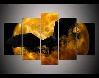 Moderno preto morcego Grande HD Cópia Da Lona Pintura Imagem Moderna Decoração Home Da Parede Para Decorar a Casa