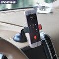 Cobao suporte para carro universal 360 rotating pára clipe mount holder suporte para iphone 5 5S 6 6 s 7 plus galaxy s3 s4 s5 note 4 5