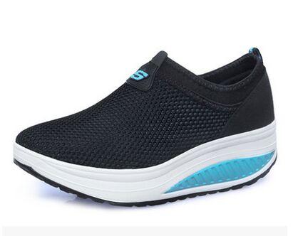 Confortable Chaussures Casual Respirant Plus 02 Mode Vulcaniser Taille Dames Femme Volant 03 06 Maille Tissus 04 05 Sneakers Printemps Femmes La 01 wzxdqxI8