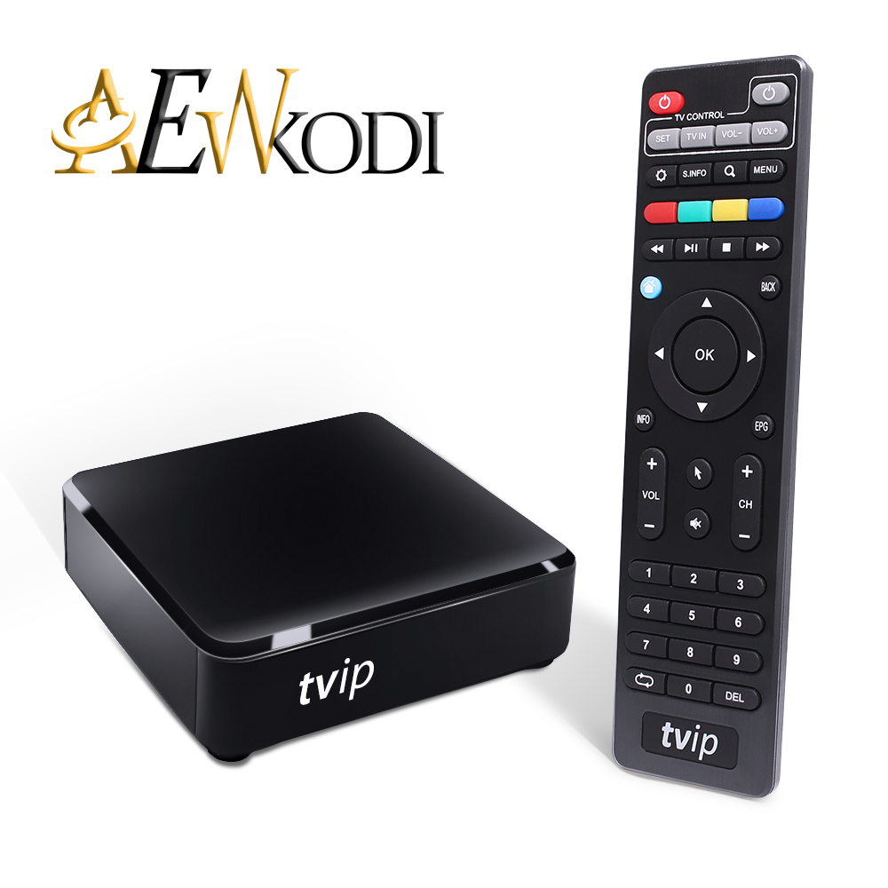 TVIP 415 Dual WiFi TV Box Amlogic Quad Core 5GB Android 4.4/Linux Dual OS Smart TV Box Support H.265 Airplay DLNA 250 254 5pcs android tv box tvip 410 412 box amlogic quad core 4gb android linux dual os smart tv box support h 265 airplay dlna 250 254