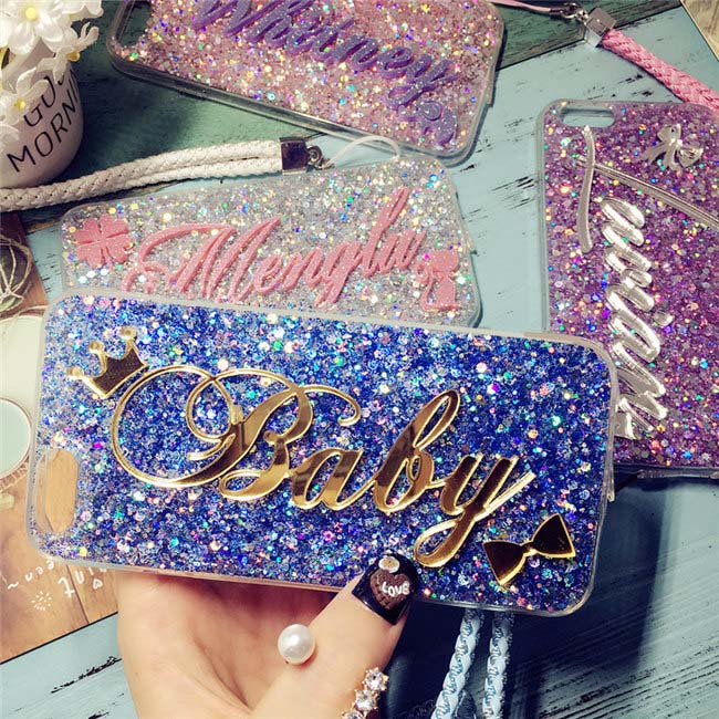 Cheap product samsung s10 plus phone case glitter in