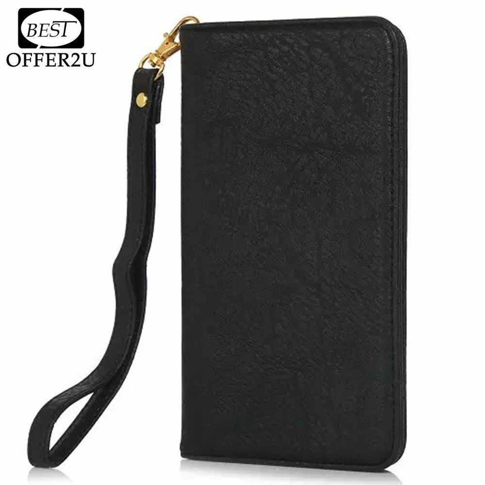 "Bestoffer2U PU Leather Case For iPhone 4 5 SE 5S 6 6s 7 Plus 5.5"" Below Man Women Girl Magnetic Vintage Bag With Card Slots Bags"