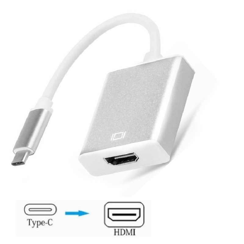 Usb C HDMI Kabel Adaptor USB 3.1 Thunderbolt 3 untuk HDMI iPhone USB-C untuk HDMI Switch Kabel Converter untuk TYPE C Perangkat
