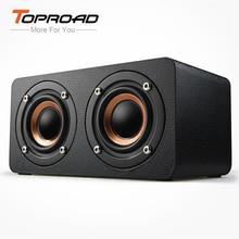 TOPROAD Draagbare 10W Bluetooth Speaker Draadloze 3D Stero Home Theater Desktop Speakers caixa de som Ondersteuning FM Radio Aux TF