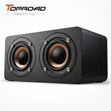 TOPROAD przenośny głośnik Bluetooth 10W bezprzewodowe głośniki kina domowego 3D stereo caixa de som obsługa radia fm Aux TF