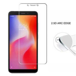 Redmi 6A الزجاج المقسى Xiaomi Redmi 6A واقي للشاشة فيلم زجاج واقي ل Xiomi Redmi 6A النسخة العالمية Redmi6A 6 A A6